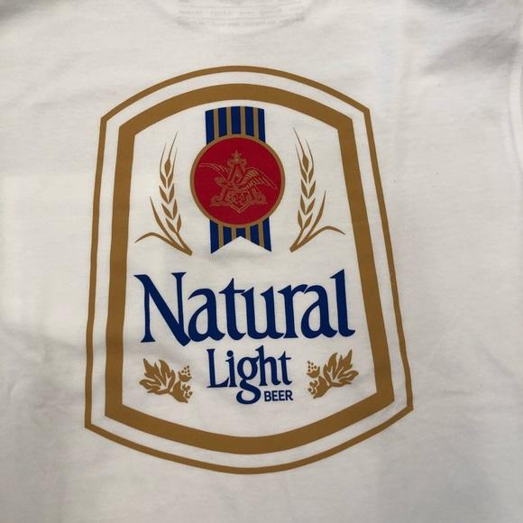 92cf6f5420bc5b Natty Light Vintage Logo Tee